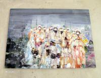Franzi Klotz / Öl auf Leinwand