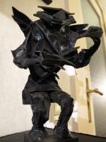 Steff Löwenbaum / Bronze Skulptur / 2011
