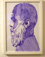 Mathias Heidenreich / Filzstiftzeichnung auf Papier / 2011