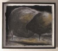 Ronny Lischinski / Kohle-Pikmente auf Papier / 2011